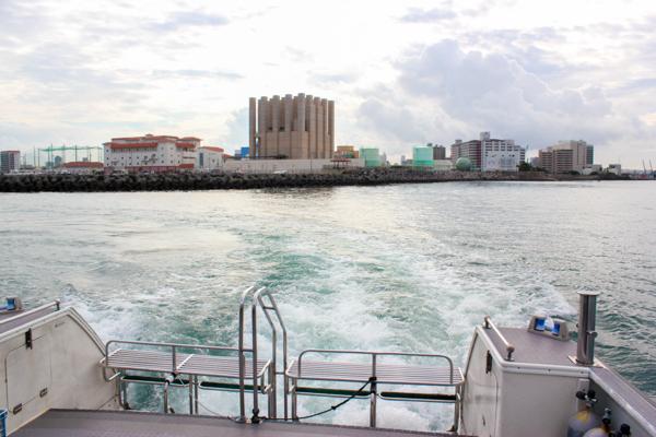 三重城港出港