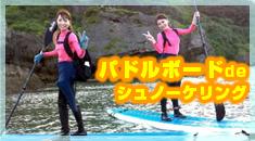 スタンドアップパドルボード&沖縄青の洞窟シュノーケリング