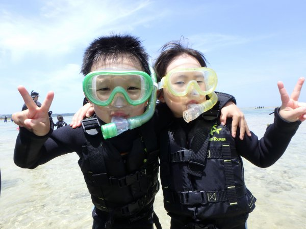 ≪ファミリーにおすすめ!≫2歳から参加OK!海ピクニック&シュノーケル!