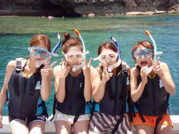 【北谷発】誰もが一度は訪れたい楽園慶良間諸島!終日シュノーケリングツアー